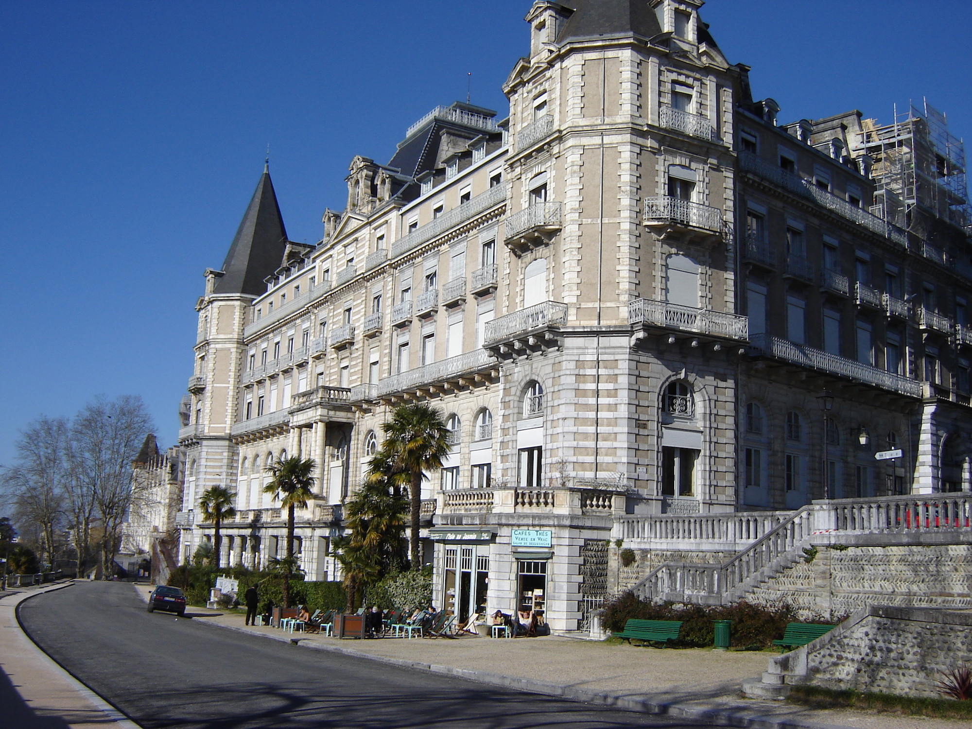 Visites guidées de l'ancien Grand Hôtel Gassion