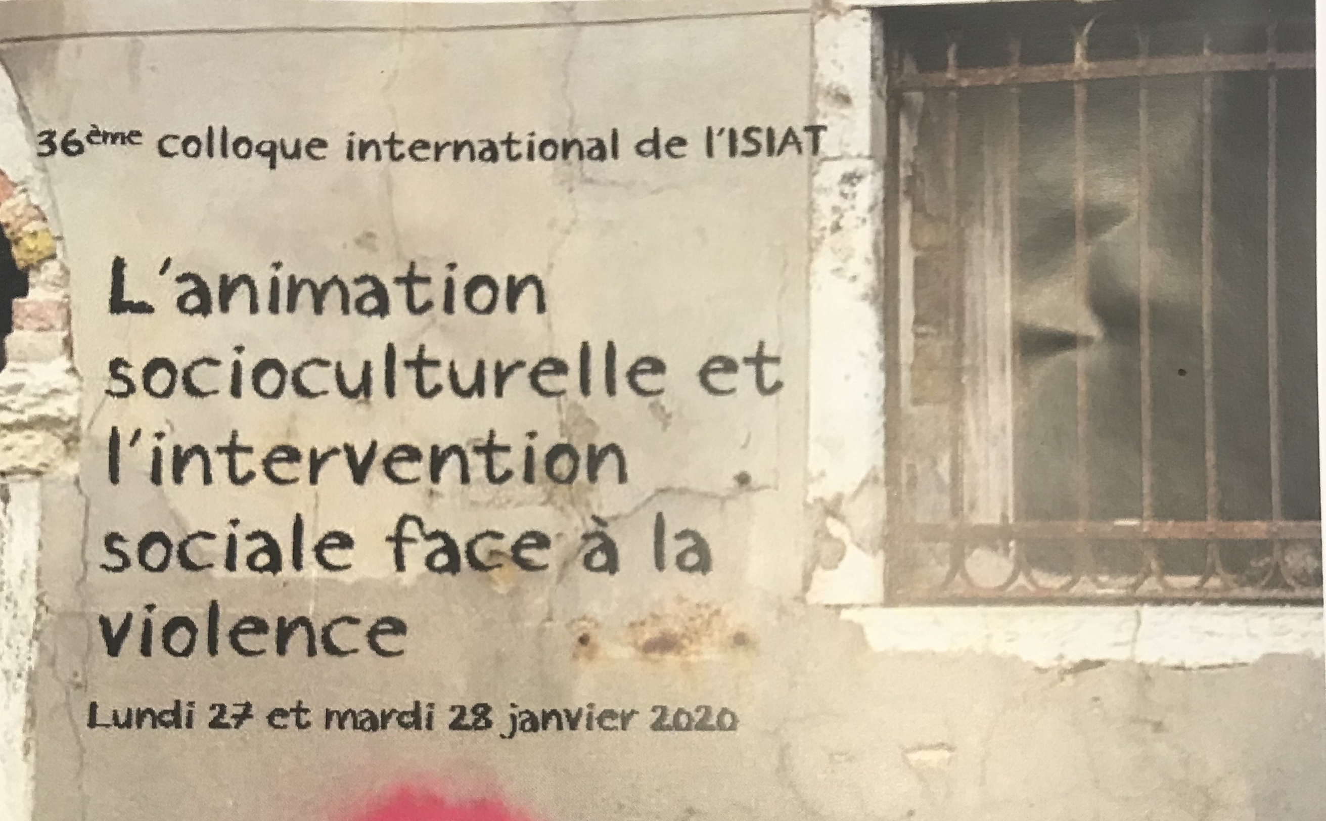 Retour sur le 36 ème colloque international de l'ISIAT :