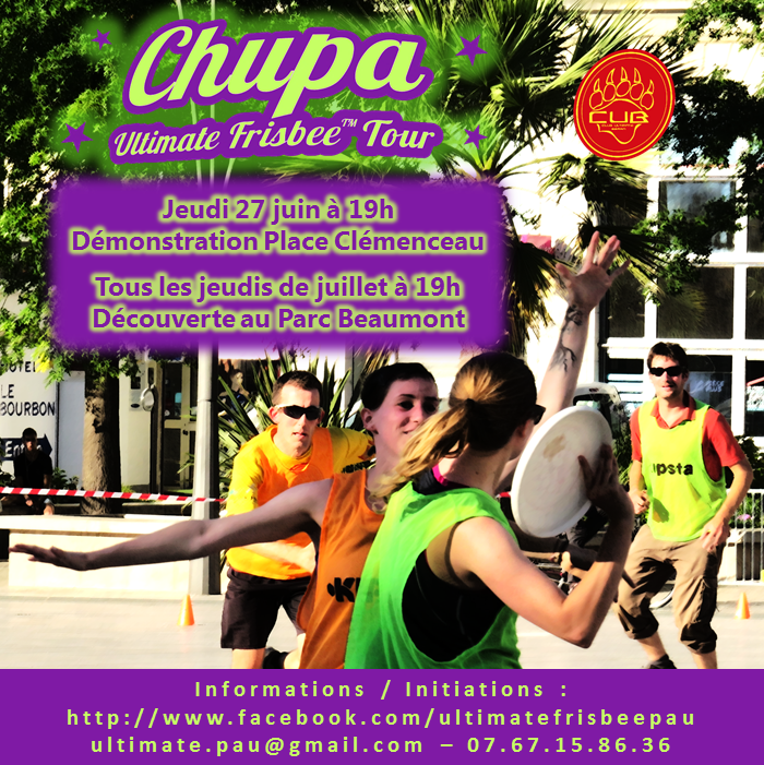 Chupa Ultimate Frisbee Tour