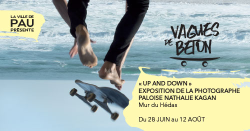 « Up and Down » Expo De La Photographe Paloise Nathalie Kagan
